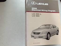 lexus ls 460 l 2008 2008 lexus ls460 ls460 l electrical wiring diagram service shop