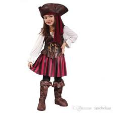 Infant Girls Halloween Costumes Baby Cosplay Spanish Pirate Halloween Costumes Girls