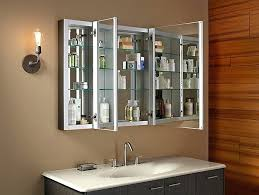 Wood Bathroom Medicine Cabinets With Mirrors 48 Inch Medicine Cabinet With Lights Wonderful Gorgeous Mirrored
