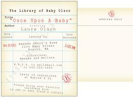 book themed baby shower invitation cimvitation