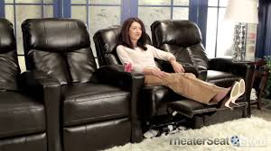 home theater recliner lane 175 grand slam home theater recliners youtube