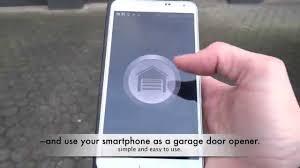 garage doors bluetooth smart garage door openers home access the