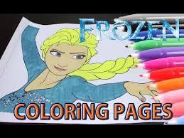 frozen coloring book elsa anna cartoon kids coloring books