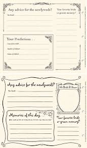 wedding guest book pages wedding bridal shower and rehearsal dinner guestbook