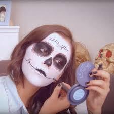 Sugar Skull Halloween Makeup Tutorial by Sugar Skull Makeup Tutorials For Dia De Los Muertos Popsugar Latina