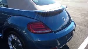 beetle volkswagen blue 2017 volkswagen beetle sel convertible silk blue lightning package