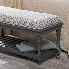 Bench In Bedroom Charming Upholstered Bedroom Bench For Porthos Home Aysel
