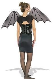 Halloween Costumes Bat Amazon Rubie U0027s Chiffon Bat Wings Costume Accessory Clothing