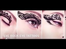 eyeliner tattoo violent eyes eye rock tattoos youtube