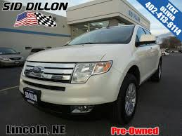 pre owned 2008 ford edge sel wagon in lincoln 4b1813b sid