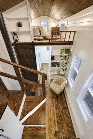 tiny house square footage rustic loft a luxury 273 square feet tiny house on wheels built