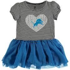 toddler blue white detroit lions celebration tutu sequins