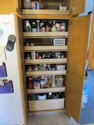 kitchen cabinet rolling shelves transform the pantry in your palatka home with shelfgenie of