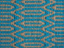 Teppich Schlafzimmer Beige Teppich Blau Beige 80 X 150 Cm Kurzflor Silopi Beliani De