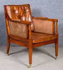 Library Chair Mahogany Bergere Library Chair Antiques Atlas