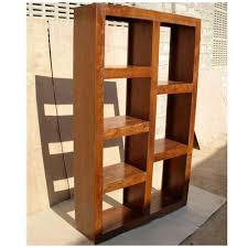 Shelf Room Divider Wood Modern Display Rack Cube Bookcase Shelf Room Divider