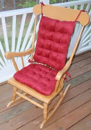 Red Rocking Chairs Rocking Chair Cushion Sets And More Clearance