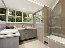 Bathroom Mirror With Lights Built In by Bathroom White Exposed Brick Bathroom With Sunken Display Rack And