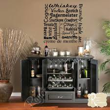 Wall Decor For Home Bar | incredible home bar wall decor ideas u image of art for area and