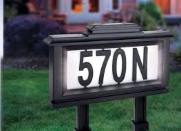 light up address sign 2615 best solar house number lights images on pinterest for the