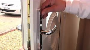 Exterior Door Knobs And Locks by How To Fit A Yale Pvcu Replacement Door Handle Youtube