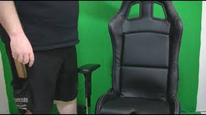 Desk Chair For Gaming by Playseat Executive Raceseat Gaming Office Chair Review Youtube