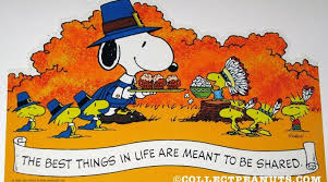 list of synonyms and antonyms of the word snoopy thanksgiving