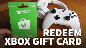 s gift card how to redeem xbox gift card on xbox console xbox one and xbox
