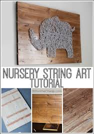easy diy ideas how to use string for decorating your home string tree wall mural 12 easy diy ideas how to use string for decorating your home