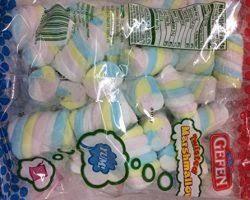 gefen kosher gefen twisted marshmallow kosher for passover 6 3 oz pack of 6