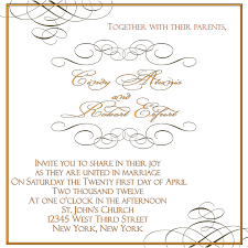 Church Invite Cards Template Applying The Wedding Planning Templates Best Wedding Ideas