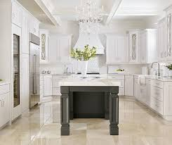 pictures of white kitchen cabinets with island white kitchen cabinets with a grey island masterbrand
