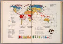 World Climate Map by World Climatic Regions David Rumsey Historical Map Collection