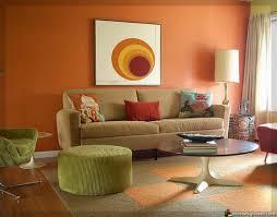 Wohnzimmer Orange Wohnzimmer Wände Haus Design Ideen