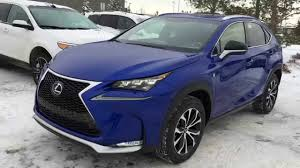 lexus crossover inside new ultrasonic blue 2015 lexus nx 200t awd f sport series 1 review