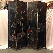 7ft Room Divider by Vintage Or Antique Japanese 4 Panel Room Divider Chairish