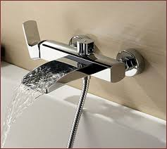 Bathtub Wall Mount Faucet Waterfall Bathtub Faucet Wall Mount Home Design Ideas