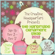handmade ornament exchange wait til your gets home