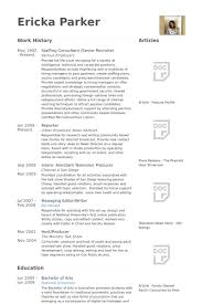 Sample Consulting Resume by Senior Recruiter Resume Samples Visualcv Resume Samples Database