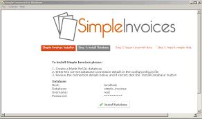 windows simple invoices