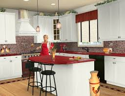 decorating ideas for kitchens with white cabinets granite kitchen countertops colors with white cabinets
