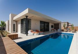 Single Family Home Designs Located In Israel This Modern Single Storey Private Residence Was