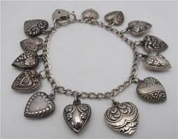 antique charm bracelet silver images Vintage sterling silver charm bracelets we are currently obsessed with jpg