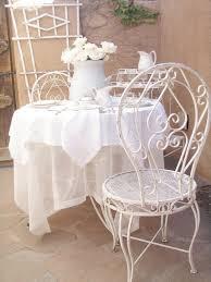 White Bistro Table White Metal Bistro Table Home Design