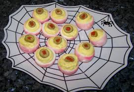 Easy Appetizers For Halloween Party by Quick U0026 Easy Eyeball Appetizer Recipes Quick Cooking