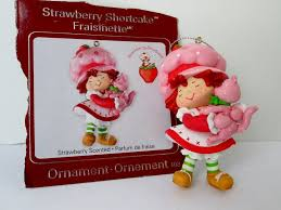 strawberry shortcake ornament rainforest islands ferry