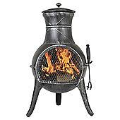 Garden Chiminea Sale Chimineas Outdoor Garden Heating Tesco