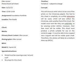 ellen u0027s blog call sheets and flat plan