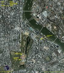 Map Of London England by Ikonos Satellite Image Of London England Satellite Imaging Corp