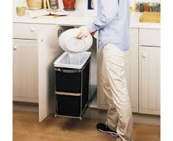 kitchen island ls pull out trash can the smithocracy kitchen cans with li ooferto